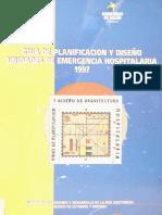 Guía de Planificación y Diseño Emergencia Hospitalaria UEH