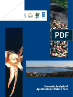 Economic Analysis of Ayvalik Adalari Nature Park