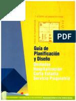Guia de Planificación y Diseño Unidades Corta Estadía Psiquiátrica