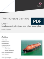 LNG – fundamental principles and plant examples
