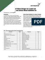 PCB Land Pattern Designs