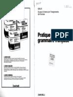 G R I F - Pratique De La Grammaire Française