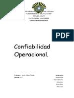 Confiabilidad Operacional (Trabajo)