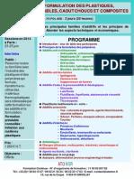 Formation Continue Additifs Et Formulation Des Plastiques