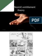 Robert Nozick_ Entitlement Theory
