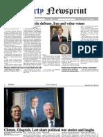 Libertynewsprint 9-19-09 Edition