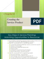 4. Creating the Service Product