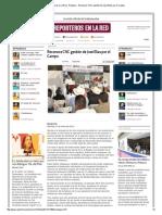 12-01-2014 'Reconoce CNC gestión de José Elias por el Campo'