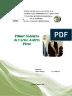 Primer Gobierno de Carlos Andrés Pérez