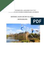 Sistemul Bancar Din Olanda - Monografie