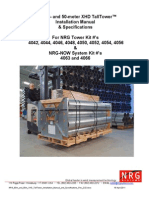 NRG 60m and 50m XHD TallTower Installation Manual - Rev 2.02