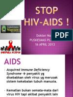 PENYULUHAN HIV