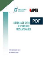 sistemas extincion gasesX