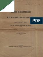 Chilena - Lastarria Discurso Inaugural de La Sociedad Literaria de 1842