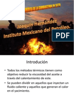 Combustion in-situ Presentacion Joaquin