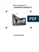 A Concise Dictionary of Indus Harappan Bharata