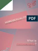 Homosexuality Presentation