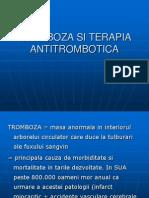 Tromboza Si Terapia Antitrombotica