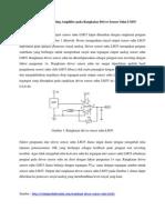Aplikasi Non Inverting Amplifier Pada Rangkaian Driver Sensor Suhu LM35