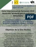 Curso Internacional de Formación 2013 FAO