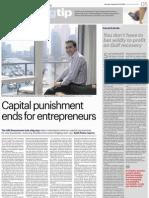 Capital Punishment Ends for Entrepreneurs