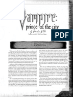 Vampire Prince of the City Rulebook