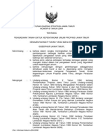 Peraturan daerah Provinsi Jawa Timur Nomor 6 Tahun 2004 tentang Pengadaan Tanah untuk Kepentingan Umum Propinsi Jawa Timur
