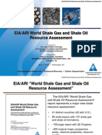 EIAARI World Shale Gas and Shale Oil Resource Assessment
