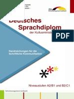 Information for taking the German Language Test
