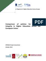 EU IPPHEAE CU Survey EU-Wide Report