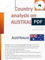 Country Analysis on AUSRALIA