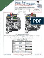 VBX 55-50 Solenoid Wiring
