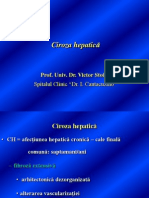 Ciroza hepatică Prof. Dr. Stoica 2013