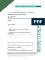 UCA - Informe de Economia e Instituciones 2012-02