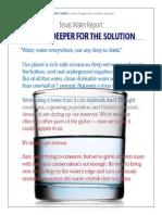 Texas Water Report