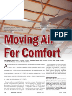 Moving Air for Comfort - ASHRAE Journal