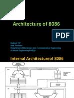 Architecture of 8086