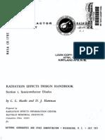 NASA CR-1785, Radiation Effects Design Hdbk