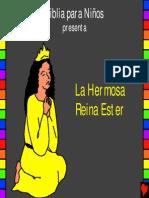 La hermosa Reina Ester-