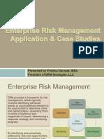 ERM Application Case Studies