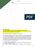 Edital Concurso CFO PM 2014 DOE 11-01-2014