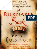 A Burnable Book by Bruce Holsinger - extract