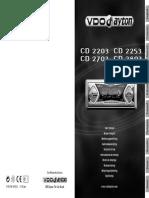 Vdo Dayton Cd2803mp3