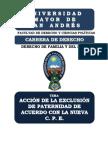 DER FAMILIA - EXCLUSION DE LA PATERNIDAD DE ACUERDO A CPE MONOGRAFIA.pdf