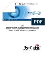 LTE MAC Specification