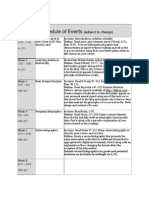 Info Design Spring 14 Schedule