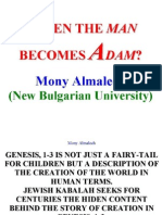 Almalech, Mony. When the man becomes Adam
