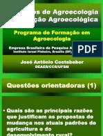 Conceitos de Agroecologia e Transicao Agroecologica - Jose Antonio Costabeber