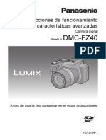 Lumix FZ 40 Guide SPA