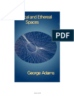 George Adams - Physical and Ethereal Spaces traducido español
